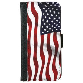USA-Flagge Geldbeutel Hülle Für Das iPhone 6/6s