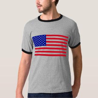 USA-Flagge-Groß T-Shirt