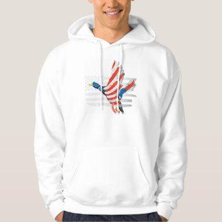 USA-Flagge Hoodie