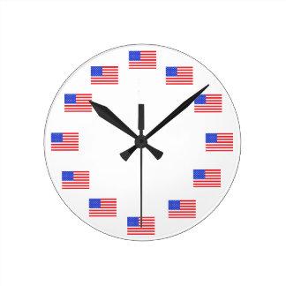 USA-Flagge-patriotische Uhren