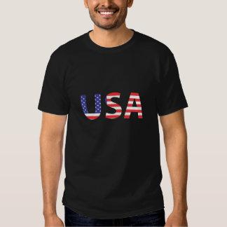 USA-Flagge-Stolz Tshirt