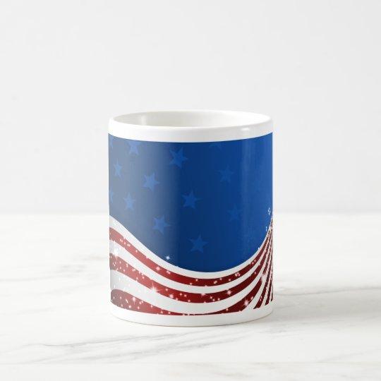USA-Flagge Tasse