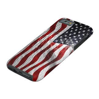 USA-Flagge Tough iPhone 6 Hülle