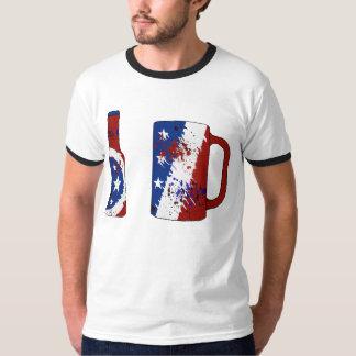 USA-Flaggen-Bier T-Shirt