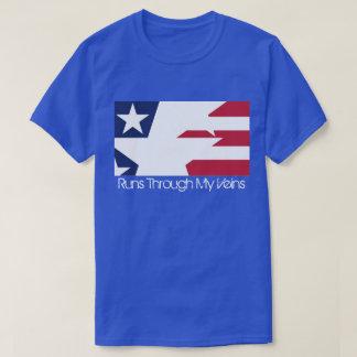 USA-Flaggen-Entwurf T-shirt