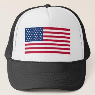 USA-Flaggen-Fernlastfahrer-Hut Truckerkappe