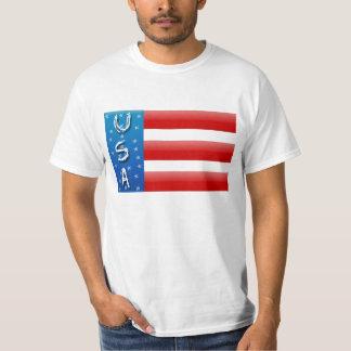 USA-Flaggen-Shirt Tshirt