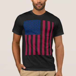 USA-Flaggen-Stolz-T-Stück T-Shirt