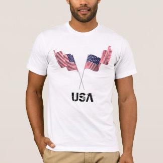 USA-Flaggen T-Shirt