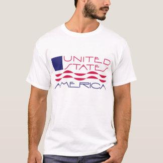 USA-Flaggen-T-Stück T-Shirt