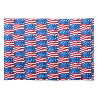 USA-Flaggen Tischset