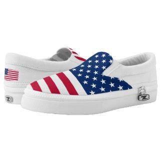 USA-Flaggen-USA Slip-On Sneaker