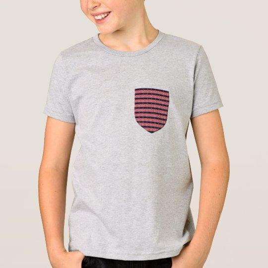 USA-Flaggentasche patriotisches serengetee T-Shirt