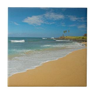 USA, Hawaii, Molokai-Insel, drei Meilen-Strand Keramikfliese