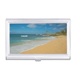 USA, Hawaii, Molokai-Insel, drei Meilen-Strand Visitenkarten Etui