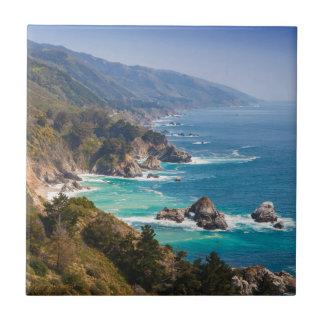 USA, Kalifornien. Kalifornien-Küste, großes Sur Keramikfliese