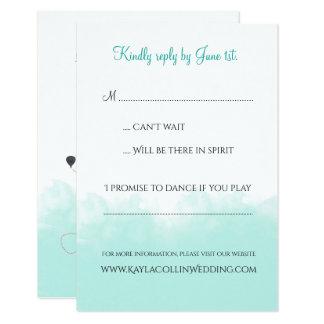 USA-Karten-Hochzeit in Urlaubsorts-Einladung UAWG Karte