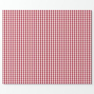 USA kennzeichnen den roten und weißen überprüften Geschenkpapier
