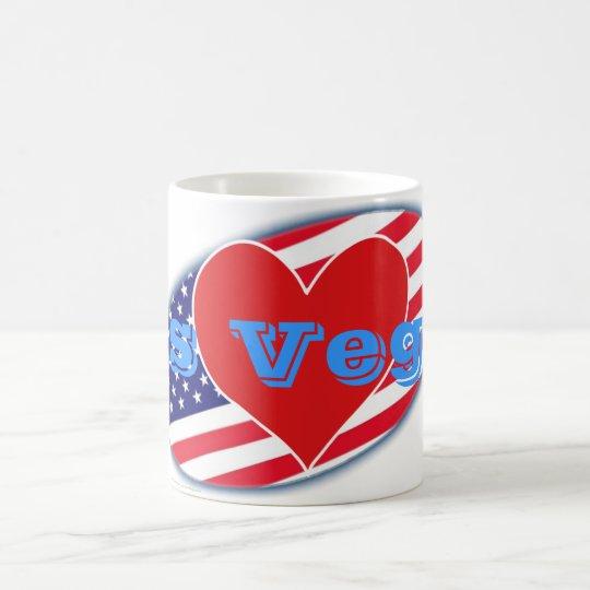 USA kennzeichnen i-Liebe Las Vegas Tasse