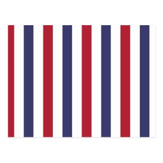 USA kennzeichnen Rot und kennzeichnen blaue breite Postkarte