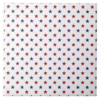 USA kennzeichnen Rot und kennzeichnen blaue Sterne Keramikfliese