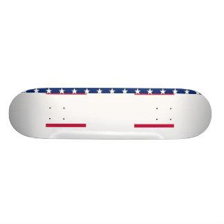USA kennzeichnen rotes weißes blaue 20,1 Cm Skateboard Deck