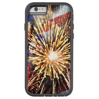 USA kennzeichnen und Feuerwerke Tough Xtreme iPhone 6 Hülle