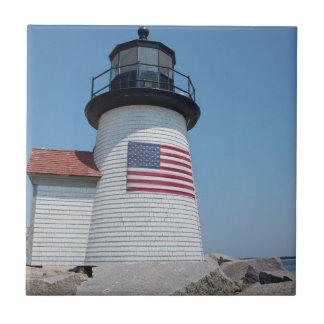 USA, Massachusetts, Nantucket. Brant-Punkt Keramikfliese
