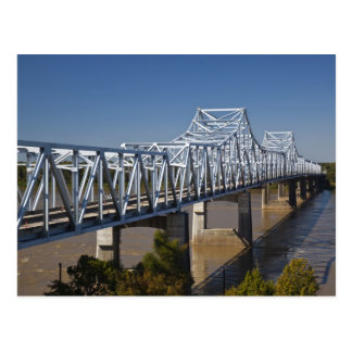 USA, Mississippi, Vicksburg. Landstraße I-20 Postkarte