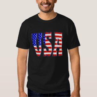 USA mit AMERIKANISCHER FLAGGE Shirt