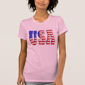 USA mit AMERIKANISCHER FLAGGE Tshirt