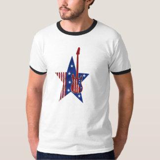 USA-Musical-Flagge T-Shirt