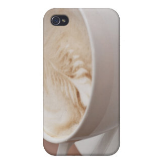 USA, New York, New York City, Cappuccino iPhone 4 Cover