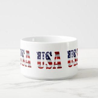 USA patriotisch Kleine Suppentasse