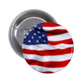 USA RUNDER BUTTON 5,1 CM