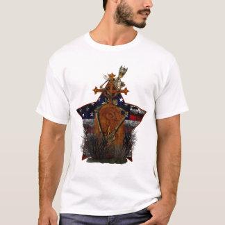 USA-Skelett-T-Shirt T-Shirt