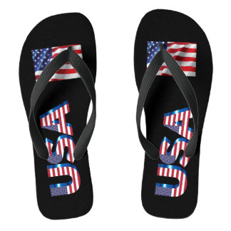USA-Sommer drehen Reinfälle um Flip Flops