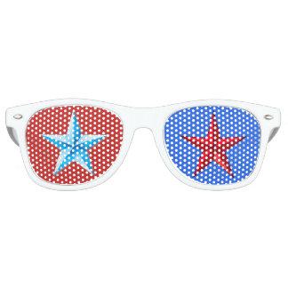 USA-Spaß-Sonnenbrille Retro Sonnenbrillen