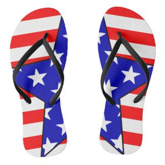 USA-Sterne 2 Flip Flops