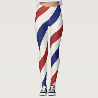 USA Striped Leggings