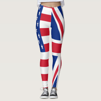USA u. BRITISCHES Duo Leggings