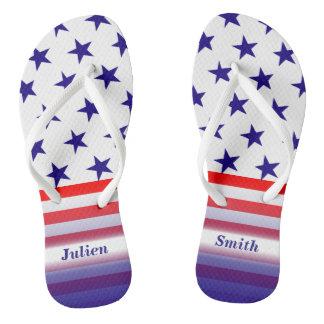 USA-US Flagge Flip Flops