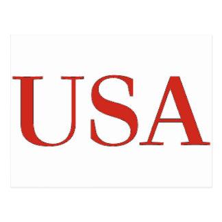 USA - USA-patriotischer Staatsangehöriger Postkarte