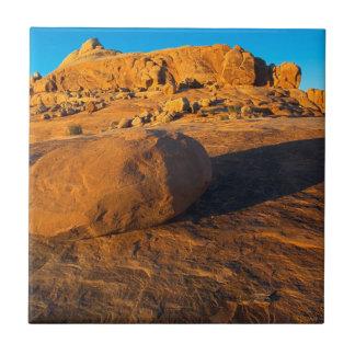 USA, Utah, Moab, Sandstein Fliese
