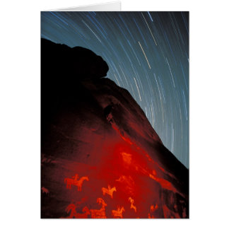 USA, Utah, wölbt Nationalpark, Petroglyphen Karte