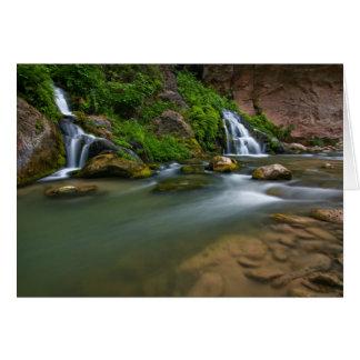 USA, Utah, Zion Nationalpark. Die Jungfrau Karte