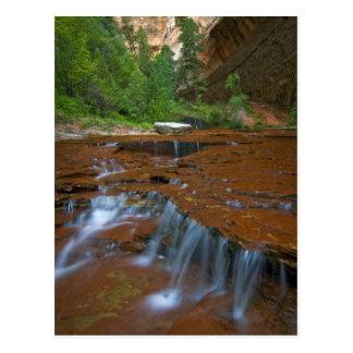 USA, Utah, Zion Nationalpark. Landschaftlich von Postkarte