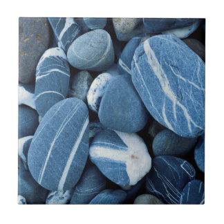 USA, Vermont, See Champlain, Steine Keramikfliese