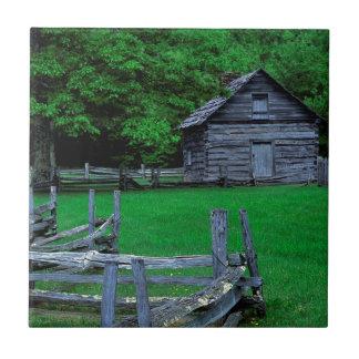 USA, Virginia, blaue Ridge-Allee, das Puckett Keramikfliese