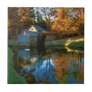 USA, Virginia, blaue Ridge-Allee, Mabry Mühle Keramikfliese